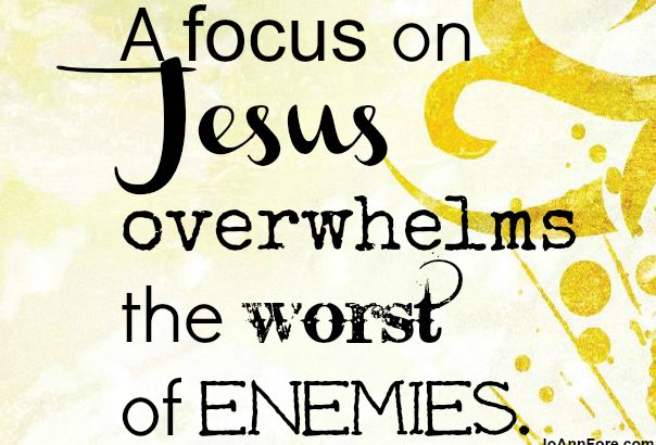 focus on Jesus-1