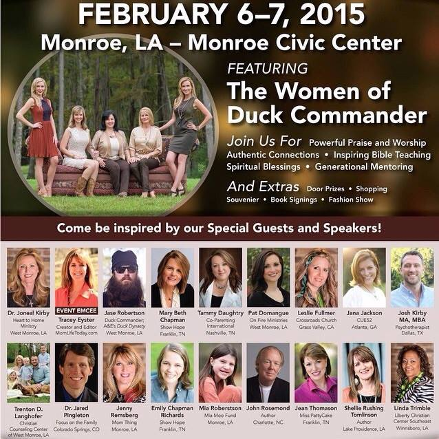 Duck Dynasty Family Tree >> The Women Of Duck Commander From Heart To Home Jo Ann Fore