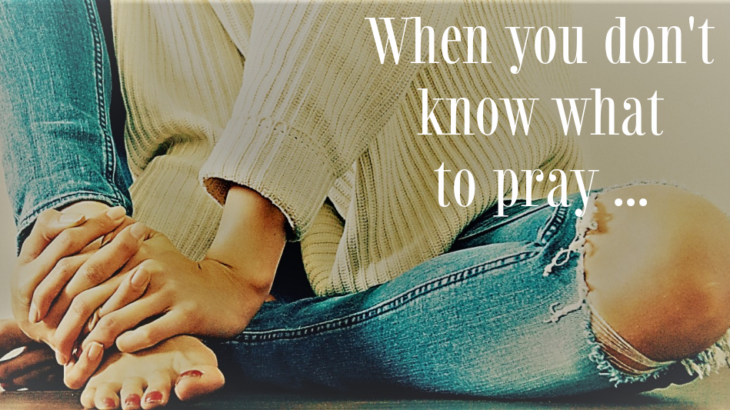 What to pray
